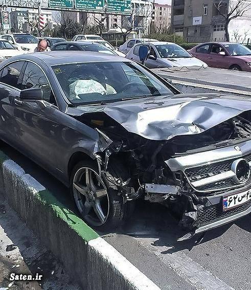 عکس تصادف خودرو تصادف خودرو لوکس تصادف خودرو گرانقیمت تصادف بنز