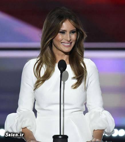 همسر رئیس جمهور همسر دونالد ترامپ مدل لباس زنانه مدل لباس 2016 زیباترین مدل لباس بیوگرافی دونالد ترامپ