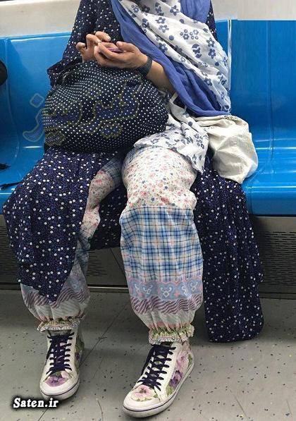 لباس دختر تهرانی عکس مترو تهران عکس دختر تهرانی حجاب دختر تهرانی