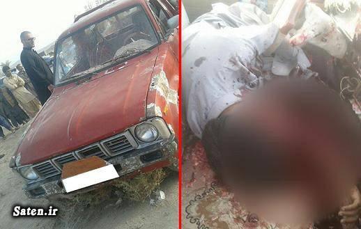 حادثه سراوان ترور سراوان اخبار سیستان و بلوچستان اخبار سراوان