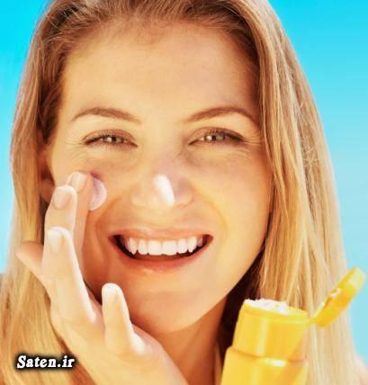 لوسیون ضد آفتاب کرم ضد آفتاب زیبایی زنان در تابستان زیبایی پوست صورت بهترین ضد آفتاب طبیعی sunscreen cream