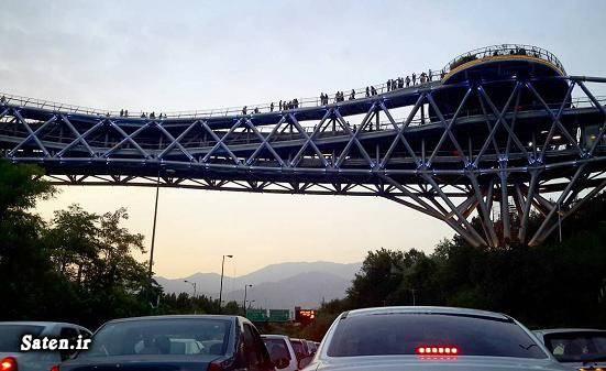 عکس پل طبیعت خودکشی در تهران خودکشی حوادث تهران اخبار تهران