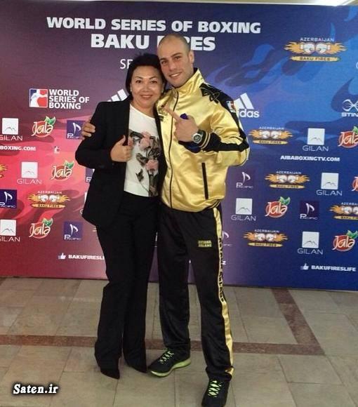 همسر احسان روزبهانی قهرمان بوکس جهان رشته بوکس بیوگرافی احسان روزبهانی ایرانیان در المپیک 2016 المپیک 2016 ریودوژانیرو Ehsan Rouzbahani