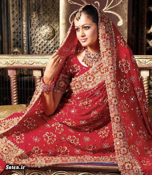 عکس عروسی عروس هندی عروس قزاقستان زیباترین لباس عروس حجاب در خارج حجاب در آمریکا آرایش عروس