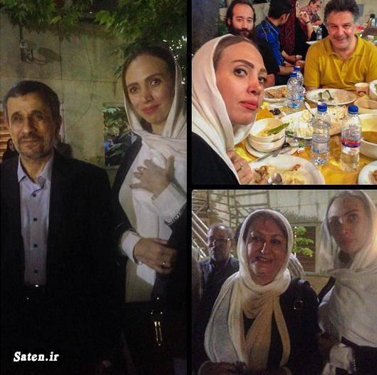 کشف حجاب بازیگران عکس احمدی نژاد بیوگرافی پریناز کنگاوری اینستاگرام پریناز کنگاوری افطاری رئیس جمهور