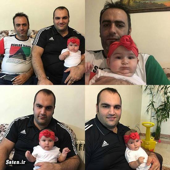 همسر بهداد سلیمی فرزند بهداد سلیمی خانواده ورزشکاران بیوگرافی بهداد سلیمی اخبار وزنه برداری