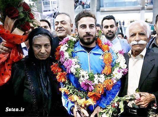 همسر کیانوش رستمی بیوگرافی کیانوش رستمی اینستاگرام کیانوش رستمی ایرانیان در المپیک 2016 المپیک 2016 ریودوژانیرو اخبار وزنه برداری