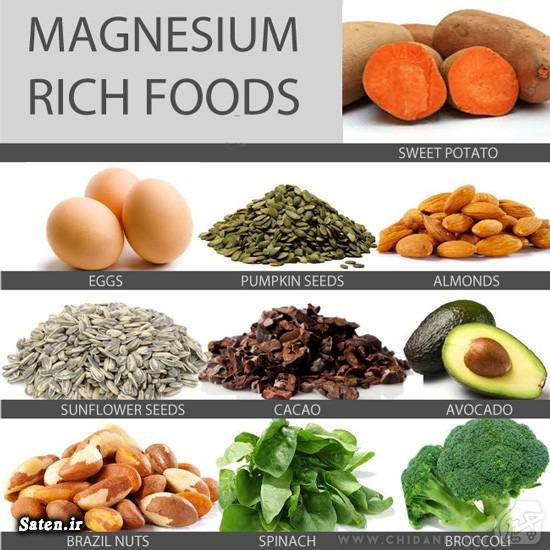 منیزیم در چه غذاهایی است فواید منیزیم درمان فشار خون خواص تخمه آفتابگردان خواص بادام تنظیم فشار خون