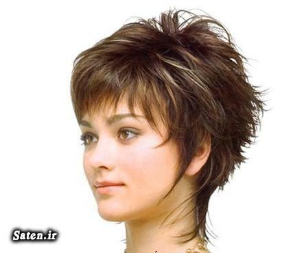 زیباترین مدل موهای کوتاه دخترانه