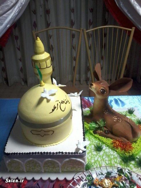 عکس حرم امام رضا عکس تزیین کیک تولد خلاقیت ایرانی خلاقیت آشپزی تزیین کیک