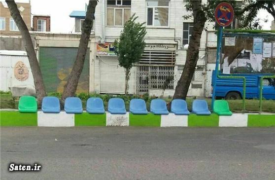عکس خلاقیت خلاقیت ایرانی ایستگاه اتوبوس اخبار اردبیل