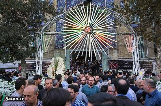 منصور ارضی عکس مراسم ختم خانواده منصور ارضی