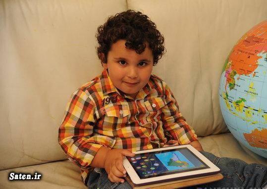 نابغه ایرانی نابغه 3 ساله ایرانی راز نابغه شدن پسر نابغه بیوگرافی شروین مرادزاده سرابی باهوش ترین کودک ایرانیان در خارج ایرانیان در اروپا افراد باهوش