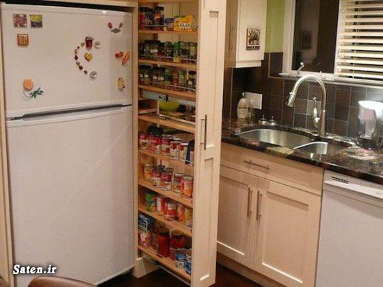وسایل جالب آشپزخانه کابینت مخفی قیمت کابینت ام دی اف قیمت دراور دکوراسیون کابینت آشپزخانه دراور مدرن چیدمان آشپزخانه آموزش کابینت سازی آشپزخانه مدرن