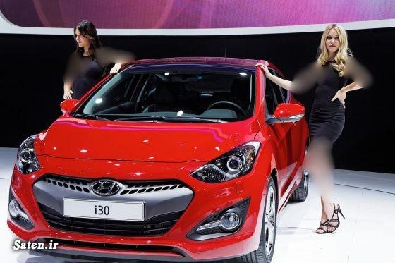 مشخصات هیوندا i30 قیمت هیوندا i30 قیمت محصولات هیوندایی قیمت خودرو خارجی Hyundai i30 2016 Hyundai i30 SR