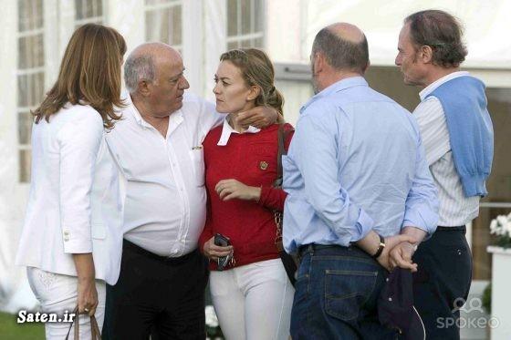 همسر آمانسیو اورتگا فروش محصولات زارا زندگینامه میلیاردرها راز پولدار شدن بیوگرافی آمانسیو اورتگا برند زارا ایندیتکس اسامی ثروتمندان جهان آموزش پولدار شدن آمانسیو اورتگا گائونا zara INDITEX GROUP INDITEX Amancio Ortega