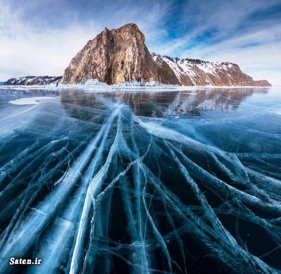 عکس روسیه زیباترین مناطق گردشگری دریاچه بایکال توریستی روسیه Lake Baikal