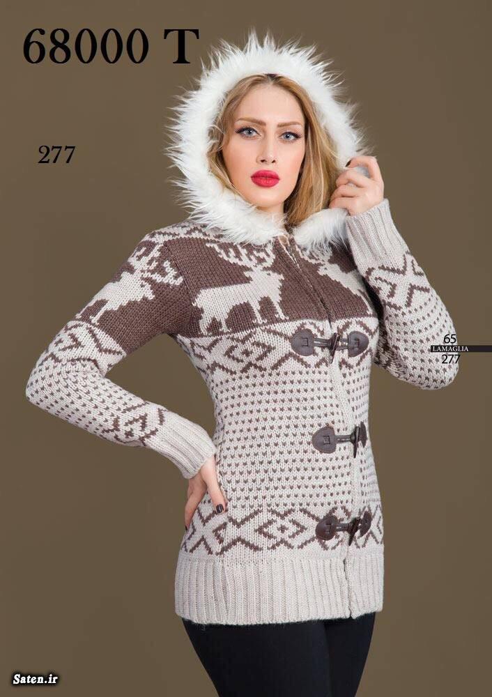 ژاکت زمستانی دخترانه