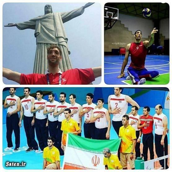 والیبال نشسته همسر مرتضی مهرزاد قد بلندترین مرد جهان خانواده مرتضی مهرزاد پارالمپیک 2016 ریو بیوگرافی مرتضی مهرزاد بلند قدترین ایرانی Morteza Mehrzad