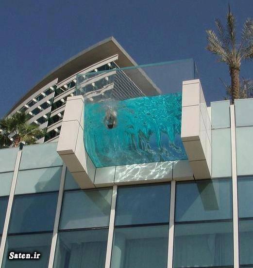 عکس شنا زن عکس زن در استخر استخر شیشه ای استخر زنان استخر بانوان