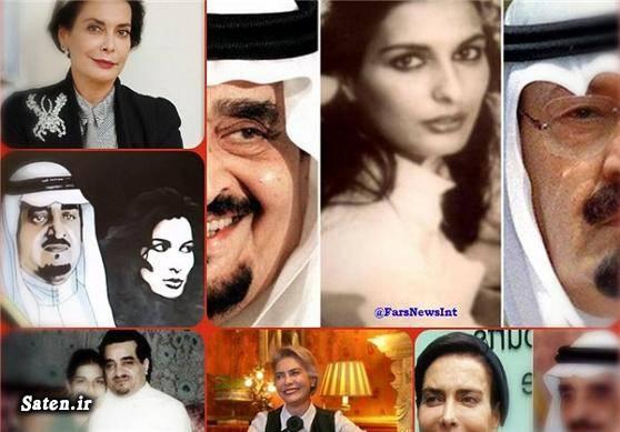 همسران ملک فهد همسر پادشاه عربستان شاهزاده عربستان شاهزاده سعودی جانان هارب اخبار عربستان