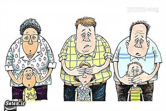 کاریکاتور آمریکا زندگی در آمریکا جنایات آمریکا انتخابات آمریکا