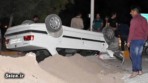 حوادث واقعی تصادف پژو پژو پارس LX اخبار تایباد