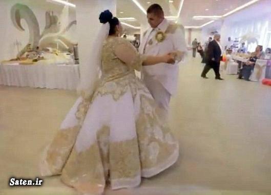مدل لباس عروس عکس عروسی عروسی مجلل عروسی ثروتمندان عروسی بچه پولدارها عروس چاق زیباترین لباس عروس اخبار اسلواکی