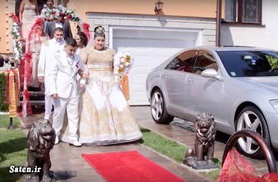 مدل لباس عروس جدید عکس عروسی عروسی مجلل عروسی ثروتمندان عروسی بچه پولدارها عروس چاق زیباترین لباس عروس اخبار اسلواکی