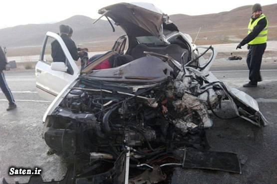 عکس تصادف مرگبار عکس تصادف تصادف سمند امنیت سمند
