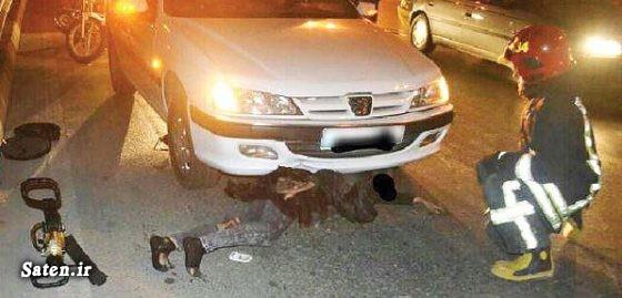 عکس تصادف مرگبار عکس تصادف دلخراش حوادث مشهد تصادف وحشتناک در ایران تصادف پژو