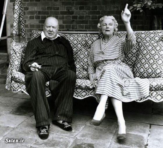 وینستون چرچیل همسر وینستون چرچیل سیاست زمین سوخته سخنان وینستون چرچیل زندگینامه وینستون چرچیل خانواده وینستون چرچیل چرچیل و مصدق چرچیل ایران و اسلام جنایات بریتانیا جنایات انگلیس Winston Churchill Clementine Churchill