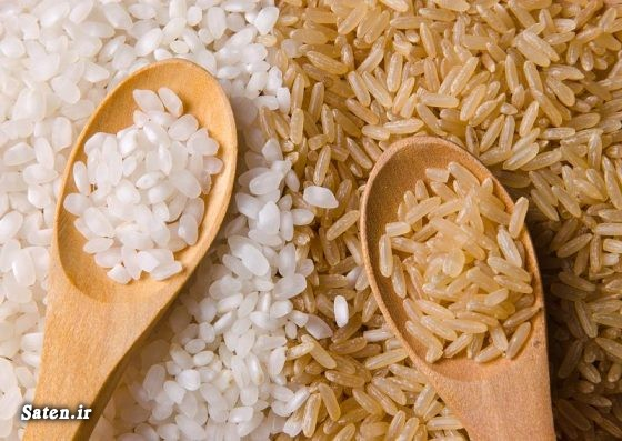 مجله سلامت قیمت برنج قهوه ای طب سنتی روش پخت برنج قهوه ای بهترین سایت آشپزی برنج قهوه ای را از کجا بخریم تهیه کنیم آموزش آشپزی