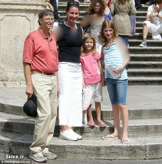 همسر بیل گیتس زندگینامه بیل گیتس دختر بیل گیتس ثروت بیل گیتس بیوگرافی بیل گیتس Bill Gates