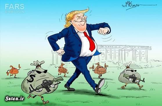 کاریکاتور دونالد ترامپ کاریکاتور آمریکا بیوگرافی دونالد ترامپ