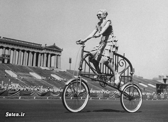 عکس قدیمی عکس خلاقیت عکس جالب عکس اختراع جدید دوچرخه دختر دوچرخه خانواده بهترین دوچرخه اختراع جالب