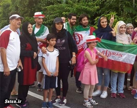 نتیجه بازی ایران و سوریه دختران تماشاگر فوتبال جام جهانی ۲۰۱۸ روسیه تماشاگر زن ایرانی
