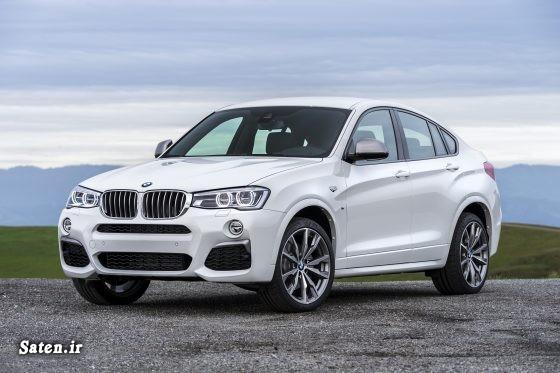 مشخصات بی ام و مشخصات BMW قیمت محصولات bmw قیمت شاسی بلند قیمت انواع بی ام و شرکت bmw بهترین شاسی بلند bmw x4 price BMW X4