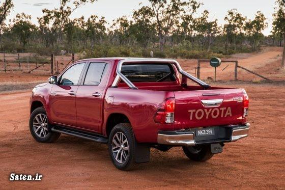 مشخصات تویوتا هایلوکس محصولات شرکت تویوتا قیمت محصولات Toyota قیمت خودرو شاسی بلند قیمت تویوتا هایلوکس خودرو پیکاپ TOYOTA HILUX