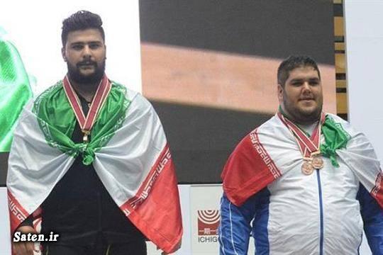 قهرمان آسیا بیوگرافی امیرحسین فضلی اخبار وزنه برداری