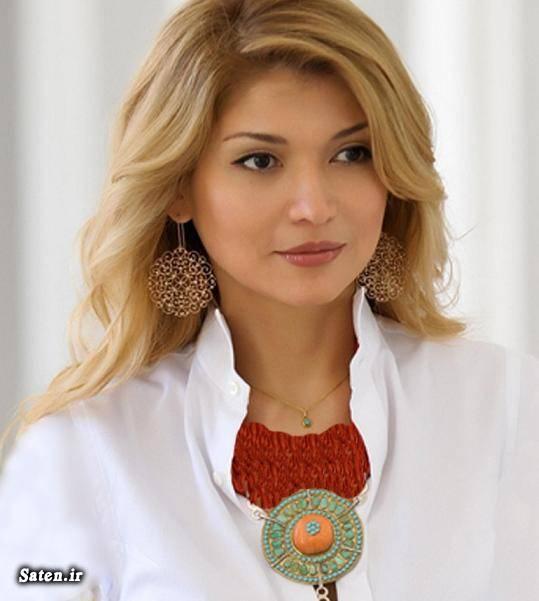 دختر رئیس جمهور دختر ازبکستانی بیوگرافی گلناره کریم اف Gulnara Karimova