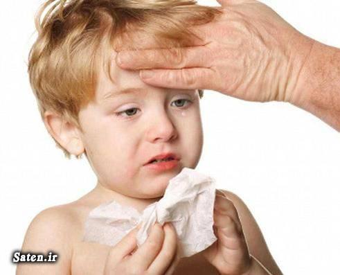 متخصص اطفال و کودکان کاهش تب طب سنتی درمان خانگی درمان تب تب بر قوی