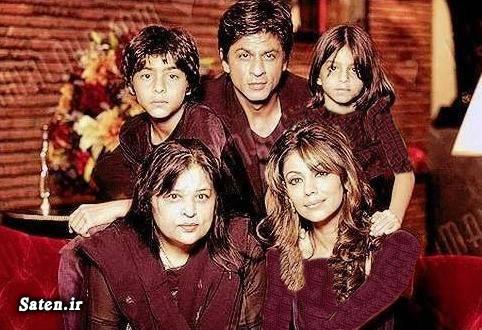 همسر شاهرخ خان فرزندان شاهرخ خان زن هندی بیوگرافی گوری خان بیوگرافی شاهرخ خان بازیگر زیبای هندی بازیگر زن هندی Shahrukh Khan Gauri Khan