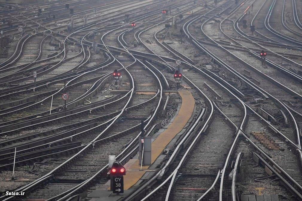 خطوط ریلی در هم پیچیده انگلیس, خطوط ریلی در انگلیس , عکس خطوط ریلی در انگلیس , نمایی از خطوط ریلی در انگلیس