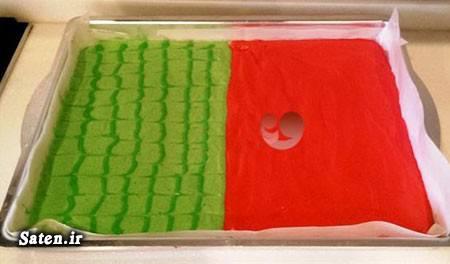 مراسم شب یلدا طرز تهیه موس لبو طرز تهیه مسقطی انار طرز تهیه شیرینی طرز تهیه رولت هندوانه شیرینی شب یلدا تزیین شیرینی آموزش انواع شیرینی