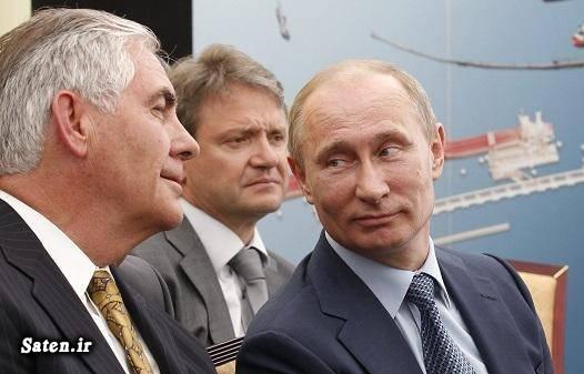 وزیر خارجه آمریکا شرکت نفتی اکسون موبیل بیوگرافی رکس تیلرسون بیوگرافی دونالد ترامپ اخبار آمریکا Rex Tillerson