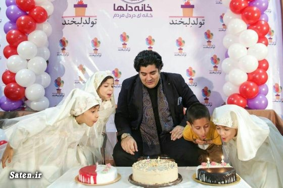 همسر سالار عقیلی جشن تولد هنرمندان بیوگرافی سالار عقیلی اخبار مشهد