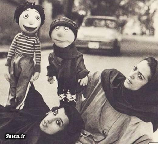 همسر دنیا فنی زاده عروسک گردان کلاه قرمزی خانواده دنیا فنی زاده بیوگرافی دنیا فنی زاده بیوگرافی آبتین سهامی