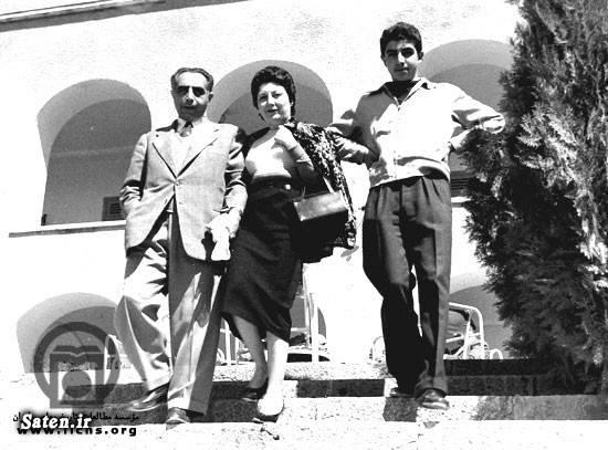 همسر علی امینی علی امینی عکس قدیمی عکس قبل از انقلاب عکس ایران قدیم بیوگرافی ایرج امینی بتول وثوق