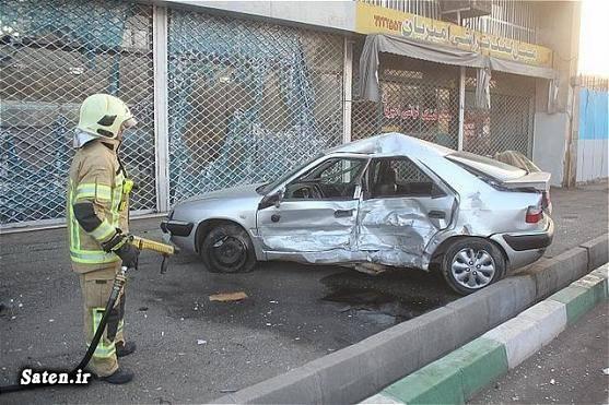 قیمت و مشخصات زانتیا عکس تصادف حوادث تهران تصادف تیبا